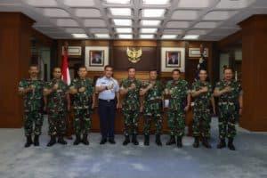 Delapan Pati TNI AU Naik Pangkat