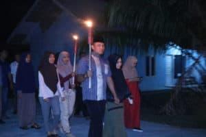 Takbir Keliling di Lanud Iskandar