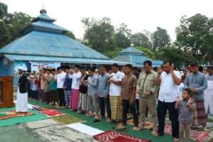 Peringatan Hari Raya Iduladha di Lanud Iskandar