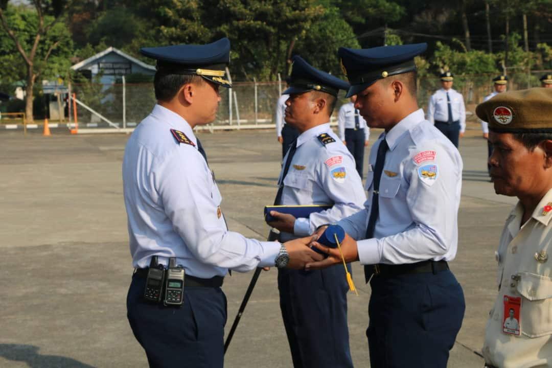 Warga Skadron Udara 17 Rayakan Hut Ke-56 Dengan Sederhana Namun Khidmat