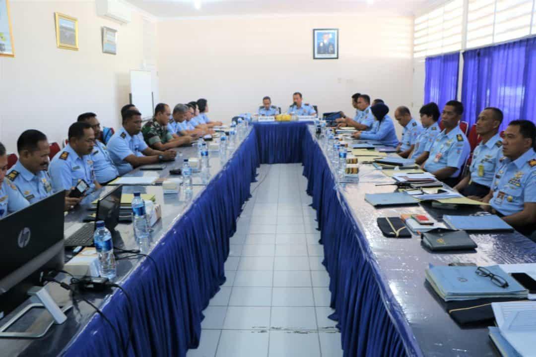 Pokja Revisi Kurdik Semaba PK TNI AU Di Lanud Adi Soemarmo