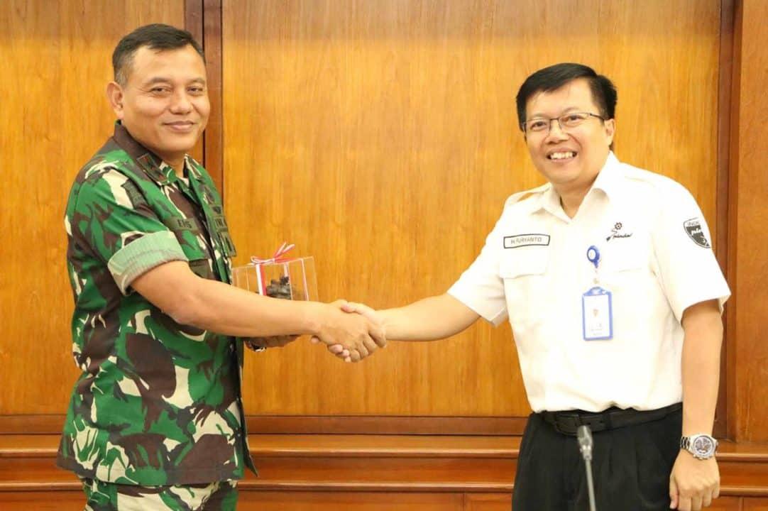 Dankorpaskhas Kunjungan ke PT Pindad (Persero)
