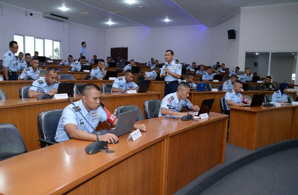 Pasis Sekkau A-106 Laksanakan Ujian Berbasis LMS