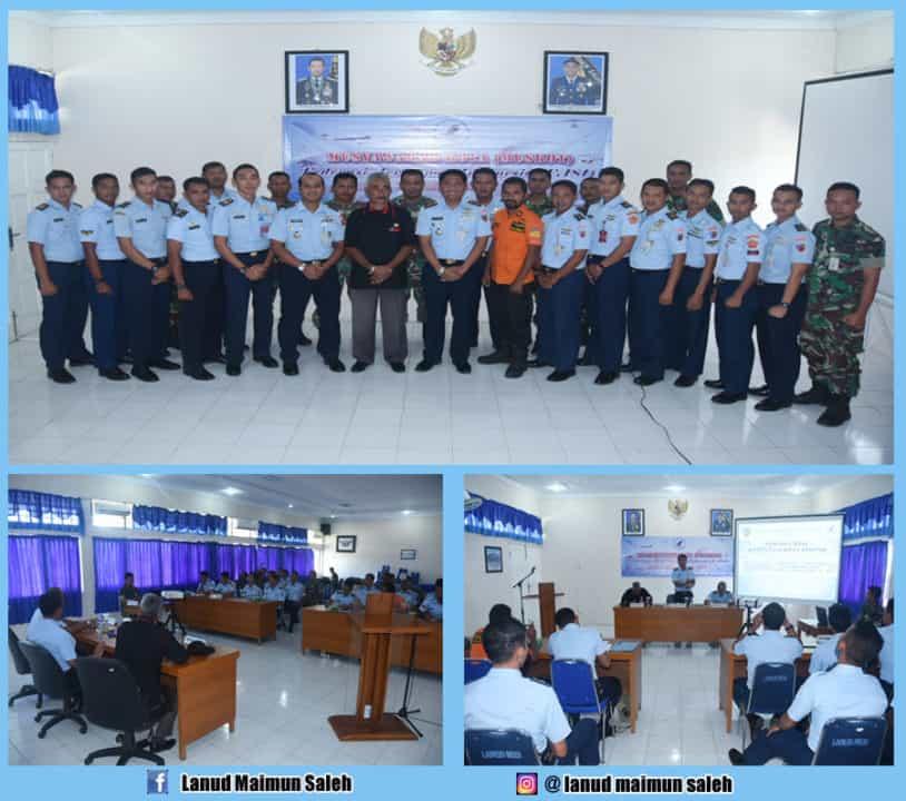 Muskot Pembentukan Federasi Aero Sport Indonesia (FASI) Kota Sabang Di Lanud Maimun Saleh