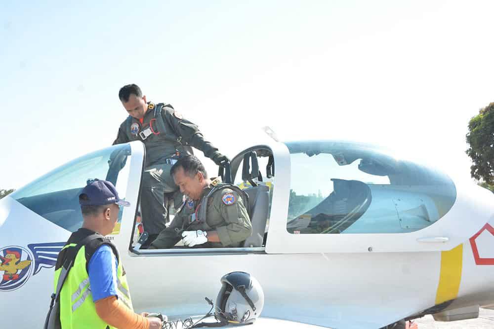 Navigasi Jarak Dekat (njd) Siswa Sekbang A-96 Berakhir Di Lanud Iswahjudi