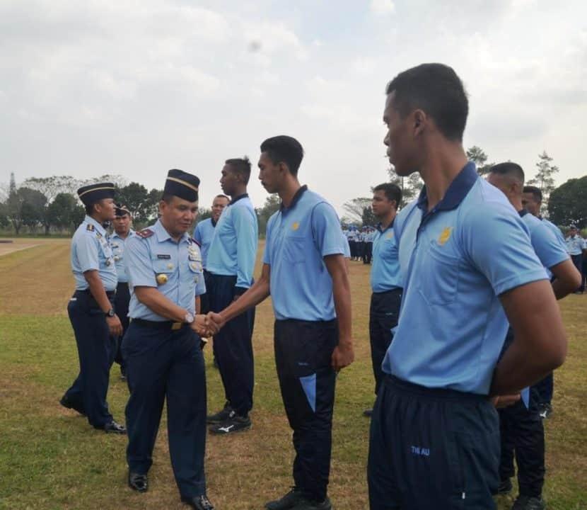 Danlanud Abd Saleh Lepas Kontingen Atlet Porau