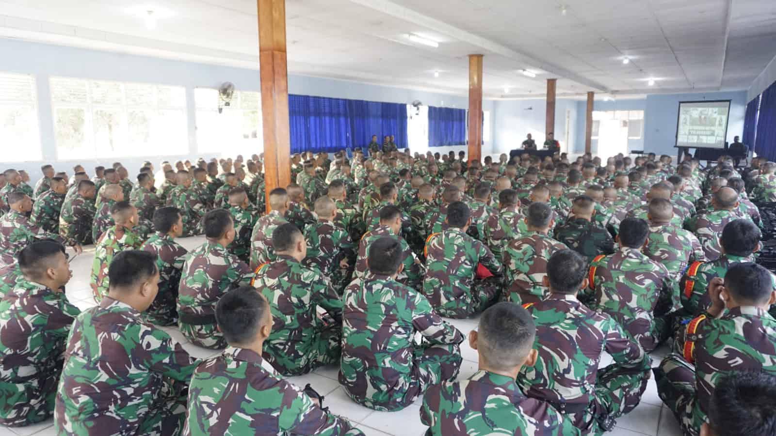 Asops Korpaskhas Berikan Pengarahan Pra Tugas Pamrahwan Papua Tahun 2019