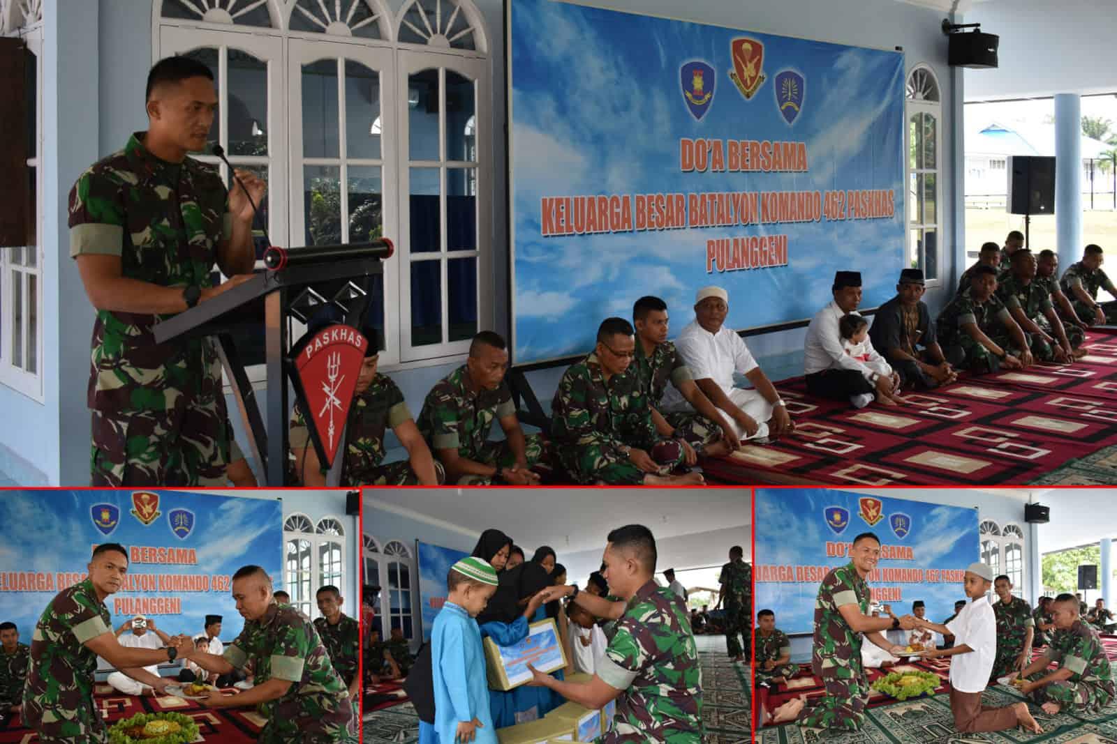 Satgas Pamrahwan Papua Yonko 462 Paskhas Gelar Do'a Bersama