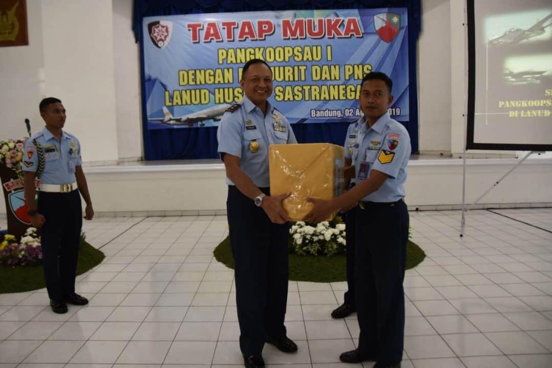 Tatap Muka Pangkoopsau I Dengan Prajurit Dan Pns Lanud Husein S.