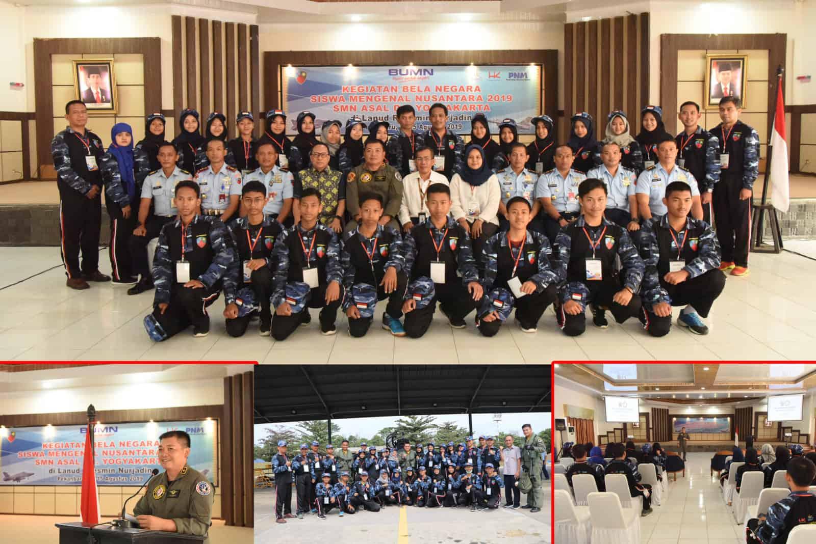 Danlanud Rsn, Perkenalkan Alutsista Kepada SMN Asal Yogyakarta