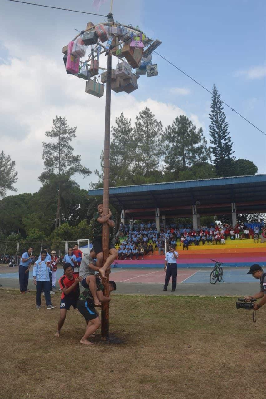 Meriahkan HUT RI ke-74, Lanud Abd Saleh Gelar Berbagai Lomba Olahraga Tradisional