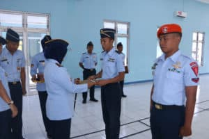 KIBI A-70 ditutup, Mayor Sus BRM Prasetyo Aryo P.S., S.Sos., siswa terbaik