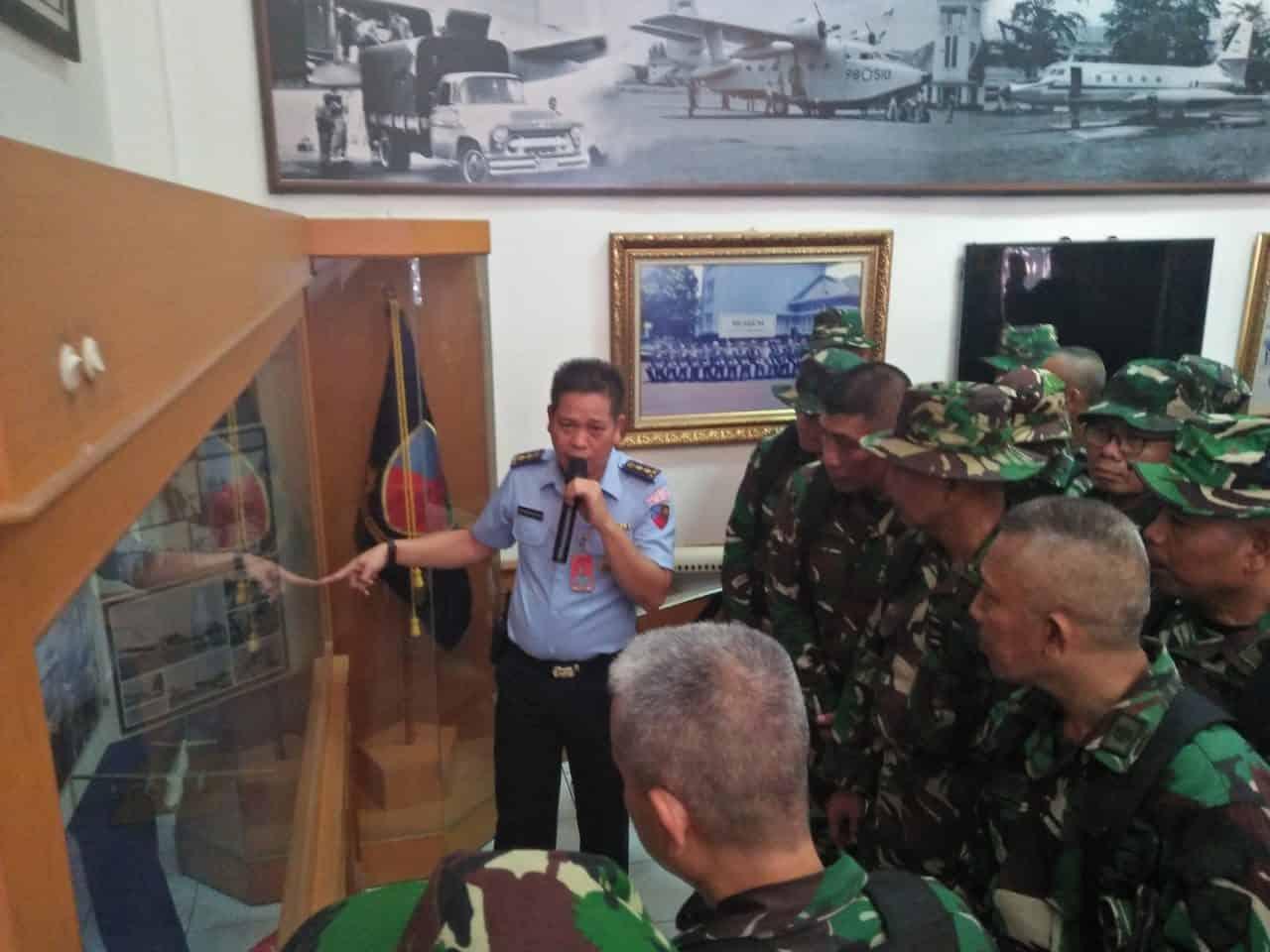 Siswa Suspajemen A-26 Kunjungi Museum Lanud Halim Perdanakusuma