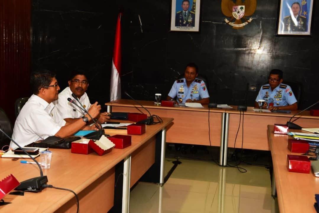 Danlanud Halim Perdanakusuma Pimpin Rapat Koordinasi KKOP