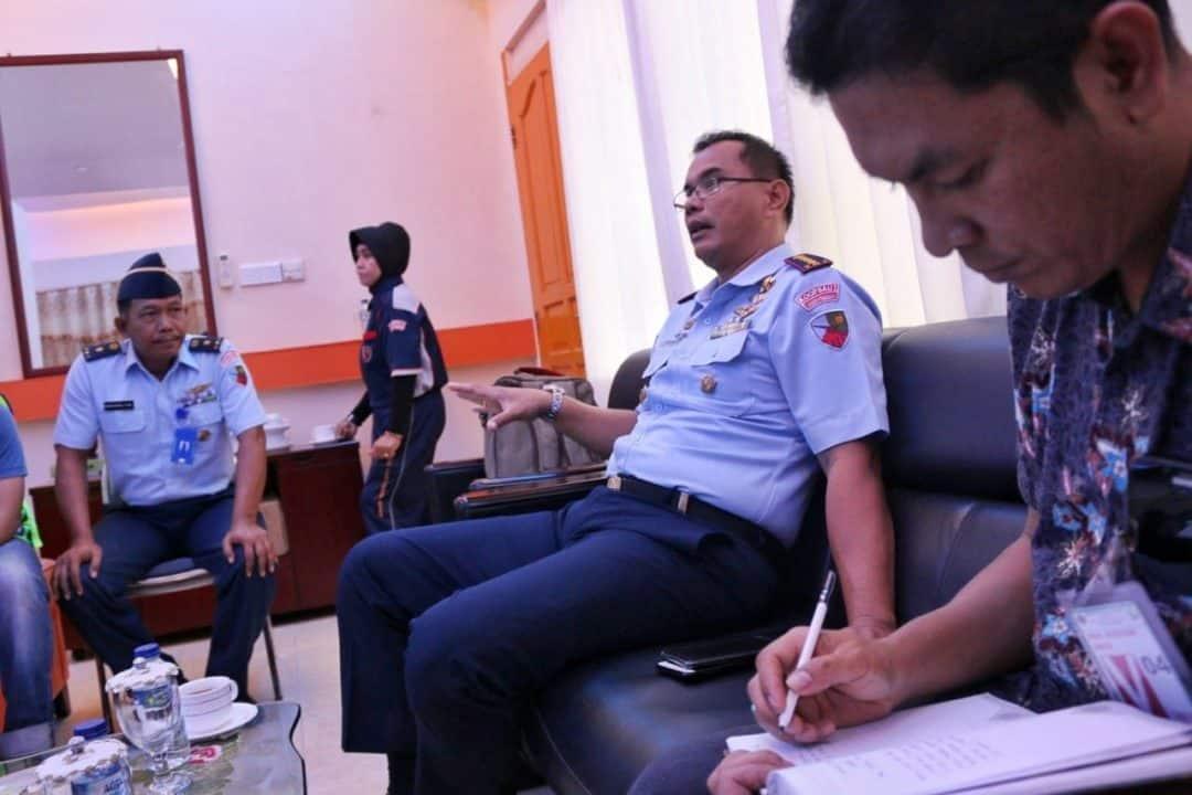 Usai Perbaikan Mesin, Danlanud RHF selaku Ketua Fasida Kepri Tinjau Test Flight Pesawat Trike