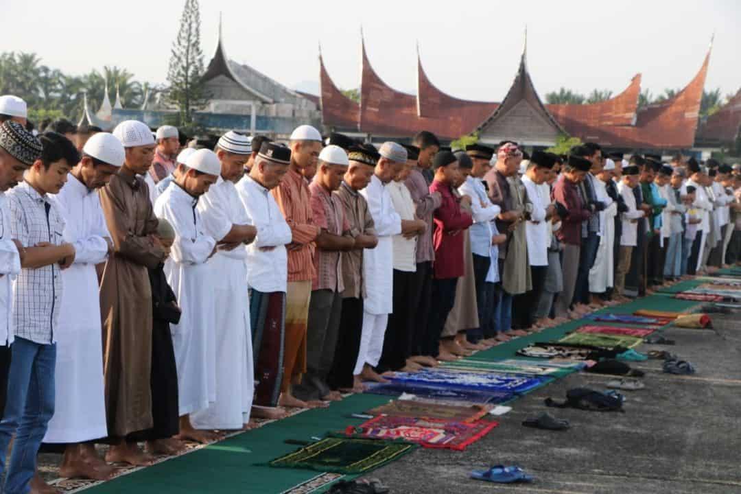 Lanud Sutan Sjahrir Gelar Salat Iduladha 1440 H/2019 M Bersama Warga Sekitar.