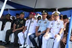 Komandan Lanud (Danlanud) Sutan Sjahrir Hadiri Sertijab Danlatamal II Padang