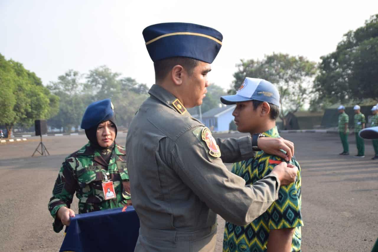 80 Siswa SMA Sulthon Aulia Bekasi Ikuti LDKS di Lanud Halim Perdanakusuma
