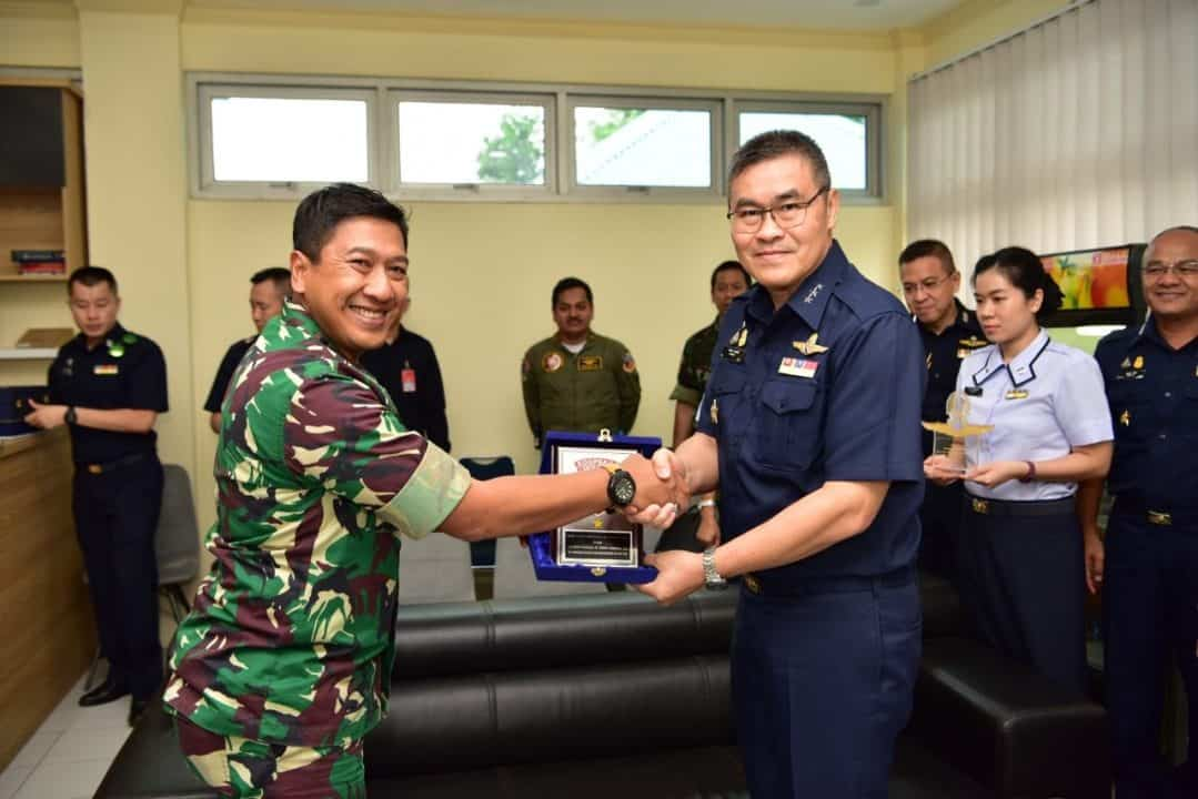 Senior Officers Exchange Visit RTAF Ke Lanud Halim Perdanakusuma