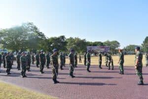 Latihan PBB Refleksi Disiplin Prajurit