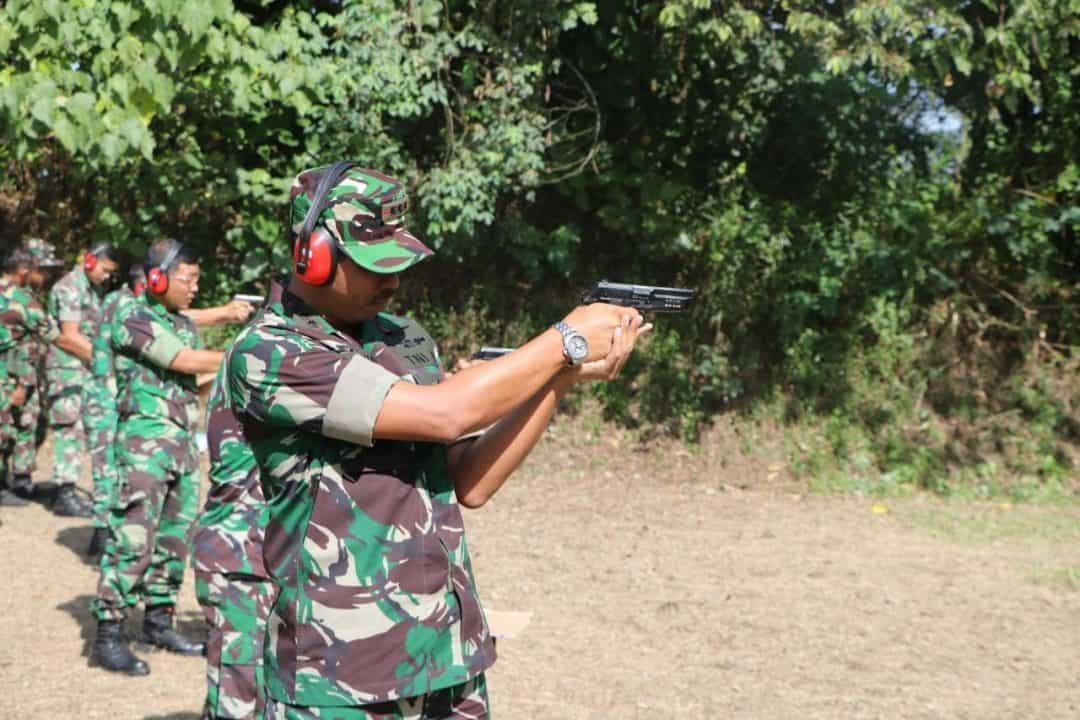 Latihan Menembak TW III Tahun 2019 Di Lanud Sutan Sjahrir