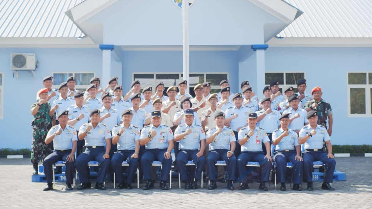 Kunjungan Kerja Pangkosekhanudnas II ke Satrad 222 Ploso Jombang