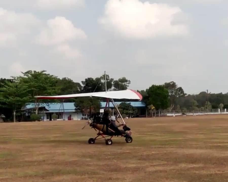 Latihan Gantolle Fasi Provinsi Banten di Lanud Bny
