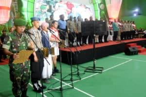 DANLANUD WIRIADINATA HADIRI PEMBUKAAN KEJUARAAN BADMINTON KAPOLDA CUP 2 TAHUN 2019