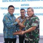 Pembuatan Kartu Tanda Anggota Elektronik, TNI AU Gandeng PT. BRI