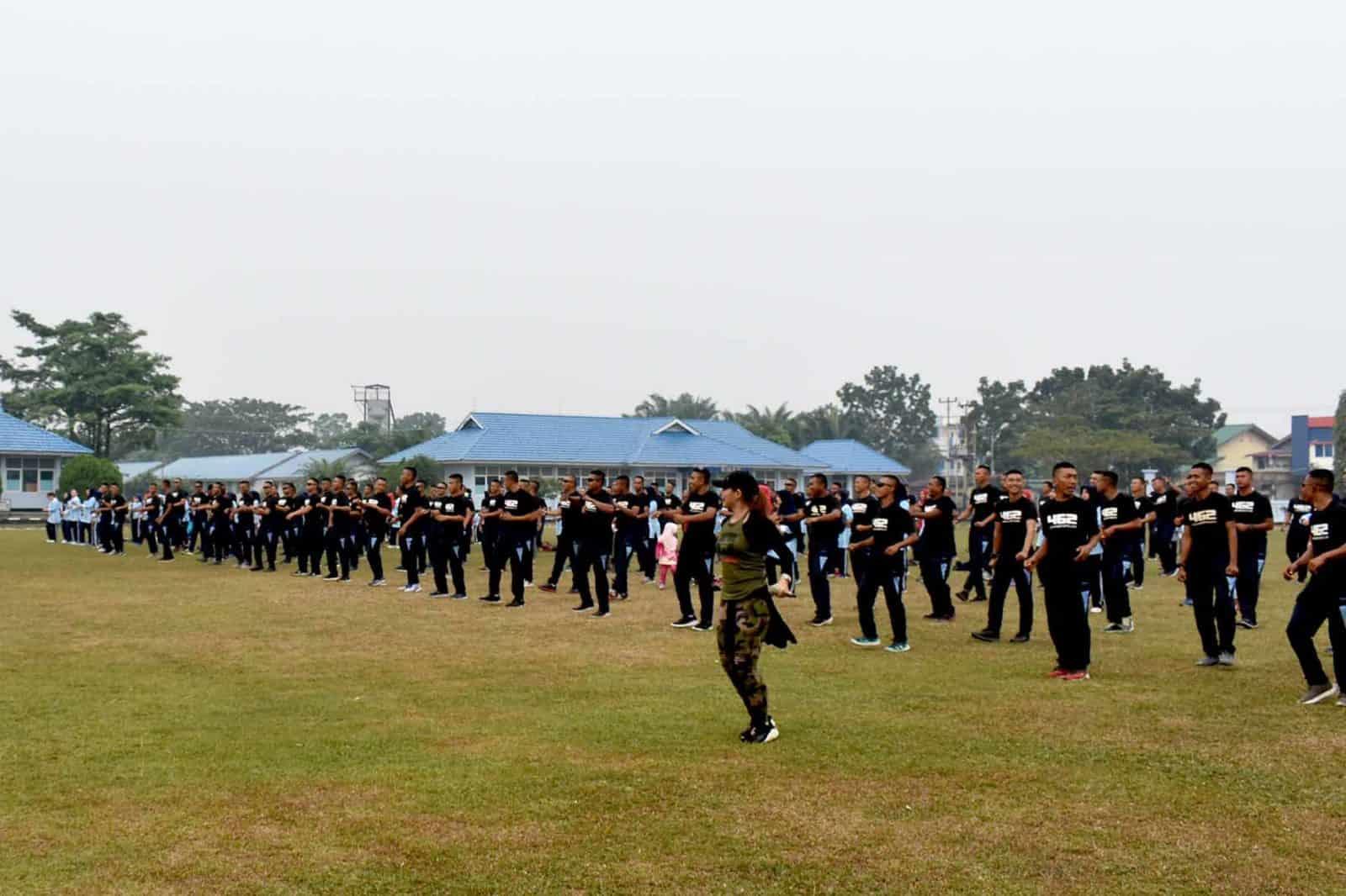 Tatap Muka Danwing III Paskhas Dengan Keluarga Besar Yonko 462 Paskhas