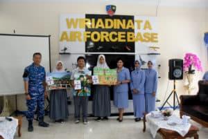 SMA 5 KOTA TASIKMALAYA MEWAKILI LOMBA LUKIS TINGKAT SMA DALAM RANGKA PERINGATAN HUT TNI KE – 74