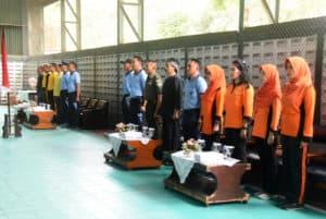 LANUD WIRIADINATA GELAR PERTANDINGAN BOLA VOLI ANTAR INTANSI DALAM RANGKA HUT TNI KE – 74