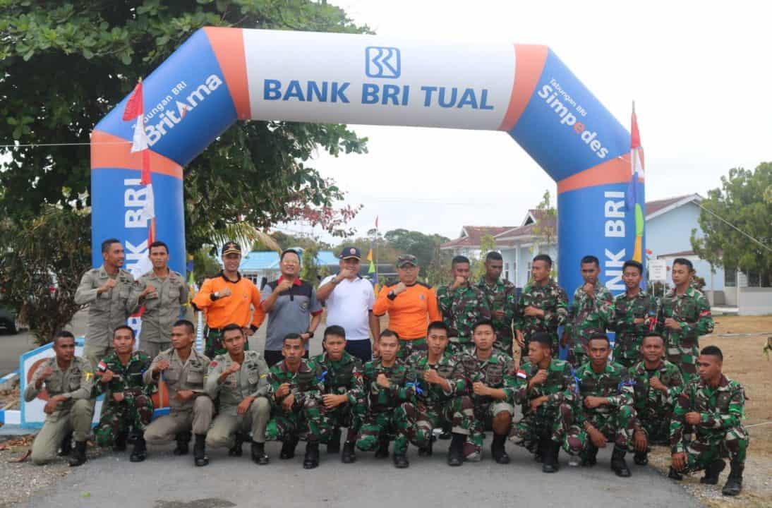 Dalam Rangka HUT TNI Ke 74 Tahun 2019 Pelaksanaan Lomba Cross Country di Lanud D. Dumatubun