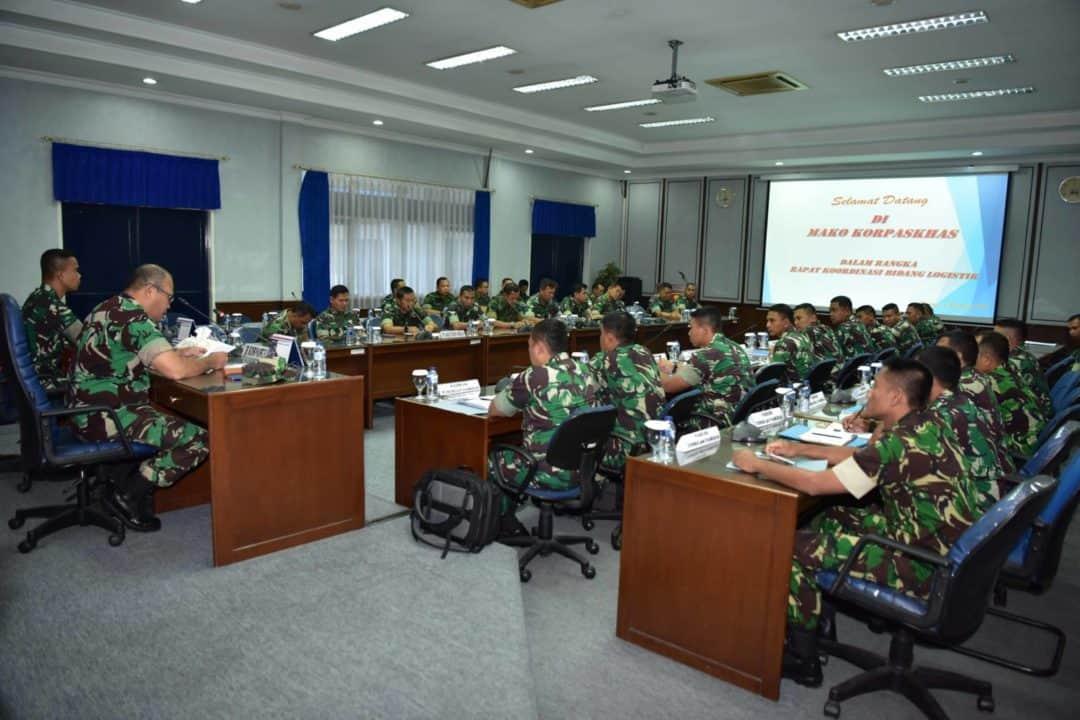 Rapat Koordinasi Logistik Korpaskhas 2019
