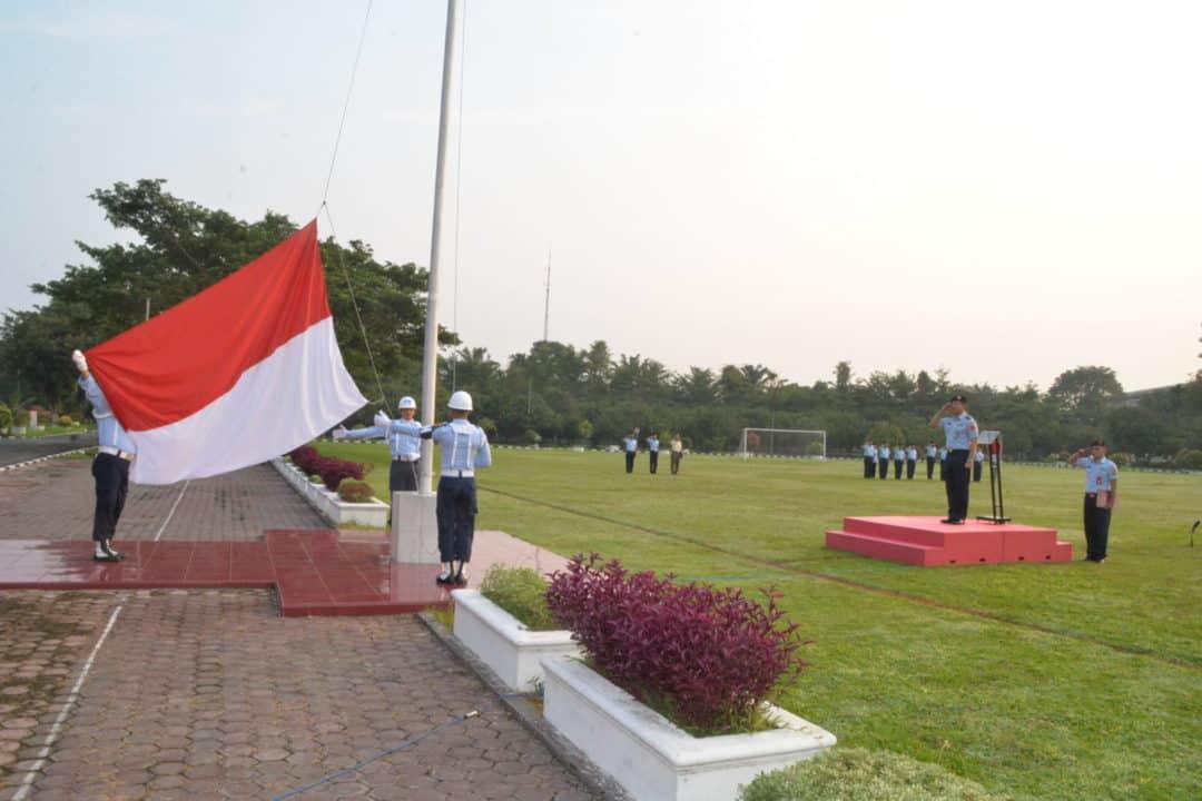 Upacara Bendera Minggu Pertama Bulan September 2019 di Makosekhanudnas III
