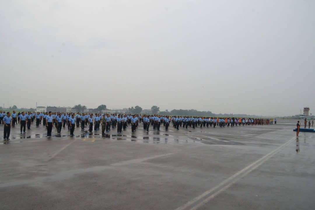 Personel TNI Angkatan Udara Medan Gelar Latihan Tari Sajojo