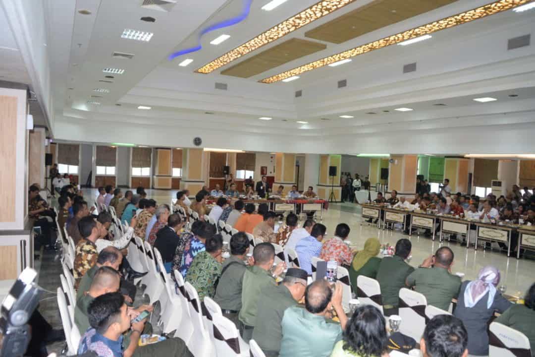 Panglima Kosekhanudnas III Rapat Koordinasi Kebakaran Hutan dan Lahan