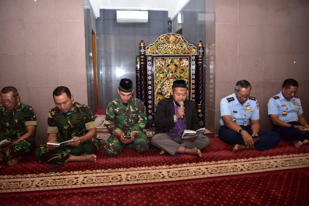 Jelang HUT TNI ke-74, Lanud Halim Gelar Do'a Bersama