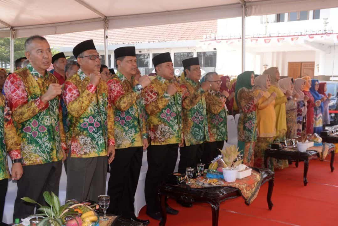 Komandan Lanud Sjamsudin Noor Hadiri KALSEL EXPO 2019 di Banjarbaru