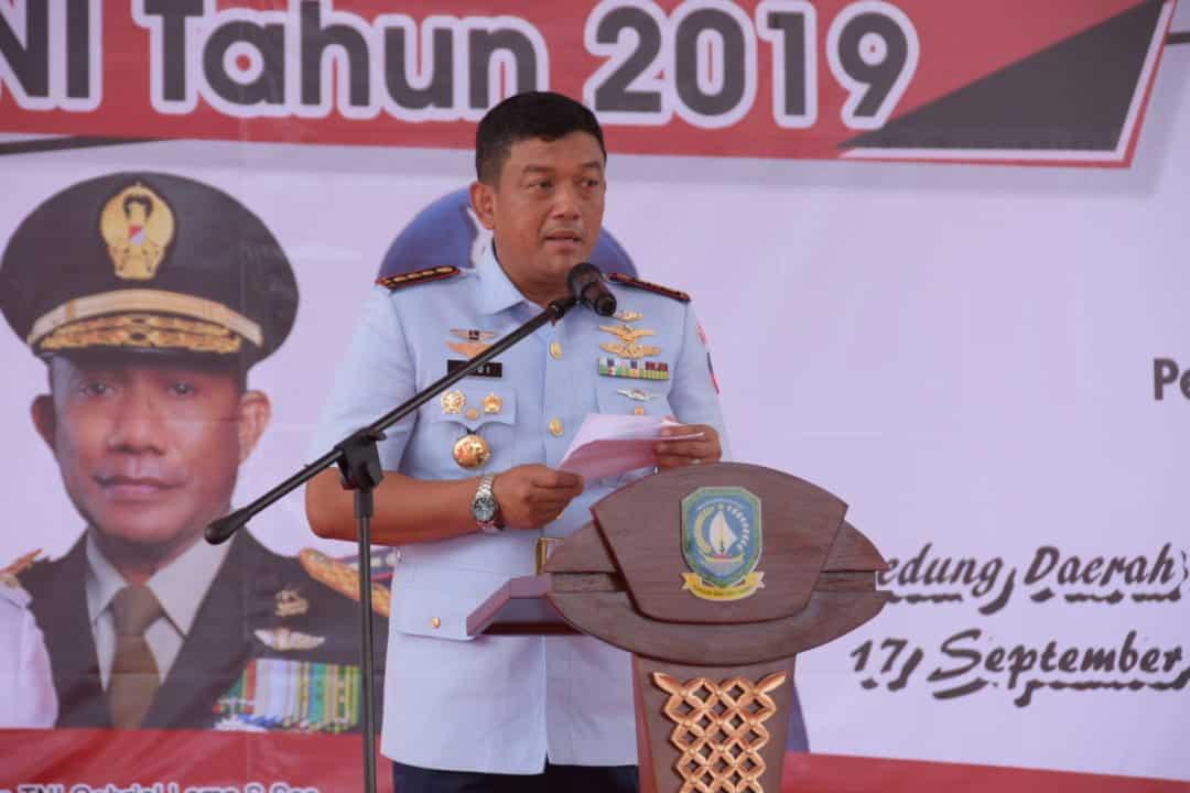 Bakti Sosial Dalam Rangka HUT Ke-74 TNI di Kepulauan Riau