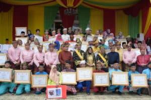 Danlanud RHF Hadiri Upacara Peringatan Hari Jadi ke-17 Provinsi Kepri Tahun 2019