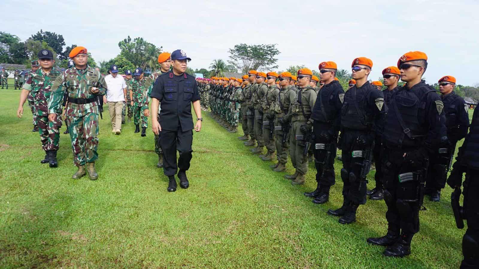 Apel Kesiapsiagaan Nasional, Penutupan Dan Simulasi Pelatihan Penanggulangan Terorisme Akibat Serangan KBRN Di Sumut