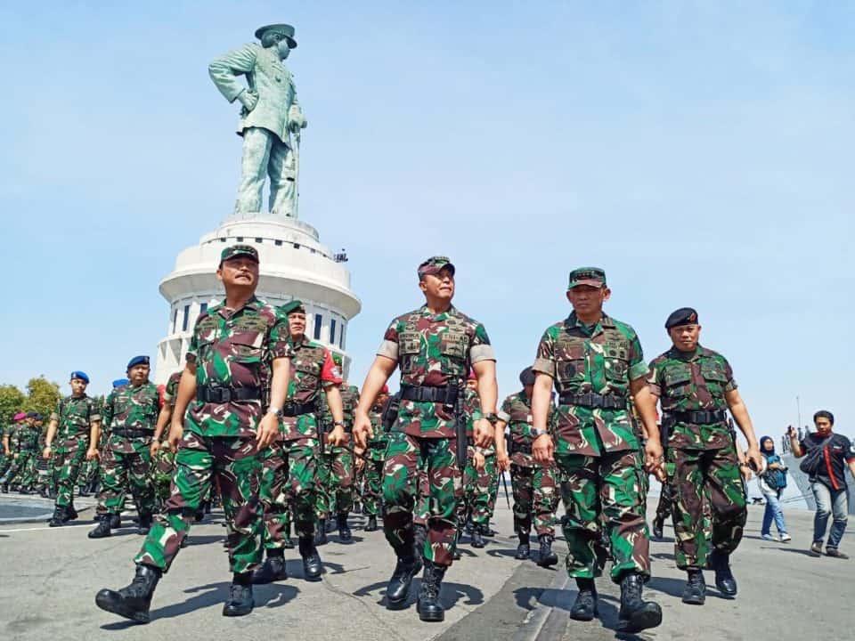 Latgab TNI 2019 Kasau Tinjau Kesiapan Pasukan di Surabaya