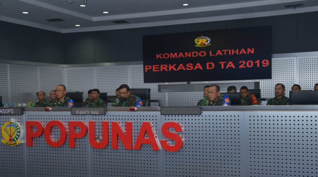 "PANGKOHANUDNAS TUTUP LATIHAN PERKASA ""D"" T.A. 2019"