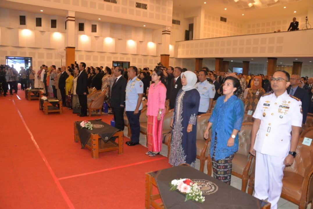 Danlanud Adisutjipto Hadiri Penganugerahan Doktor HC bagi Gubernur DIY di UNY
