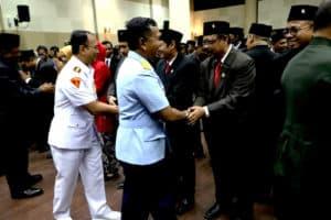 Danlanud Adisutjipto Hadiri Rapat Paripurna dan Pengucapan Sumpah Anggota DPRD DIY