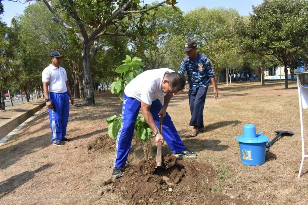 Peduli Lingkungan, Gubernur AAU Tanam 2 Jenis Pohon