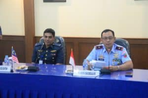 Tentara Udara Diraja Malaysia Sambangi Lanud Atang Sendjaja