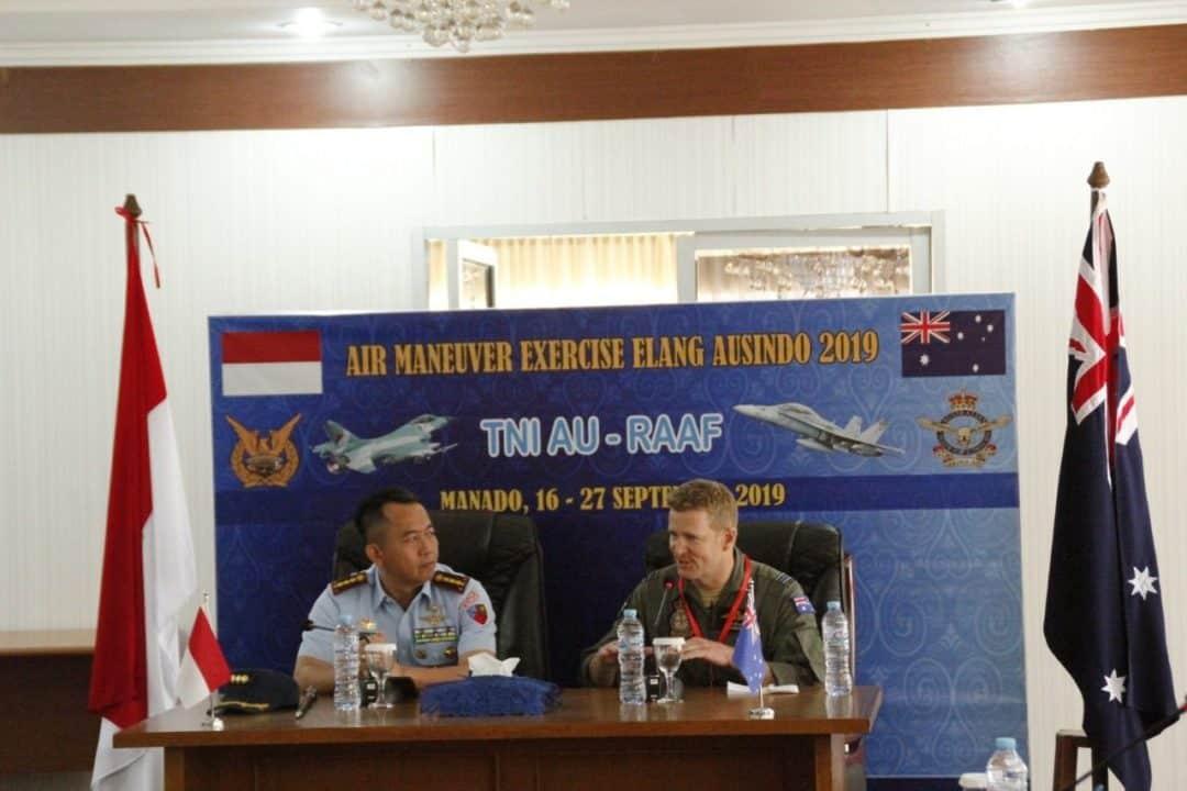 Komandan Lanud Sam Ratulangi Manado Pimpin Welcome Briefing Latma Elang Ausindo Tahun 2019