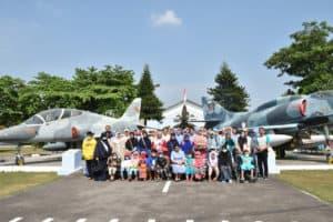 Danlanud Adisutjipto Sambut Kunjungan Delegasi Angkatan Udara Kamboja